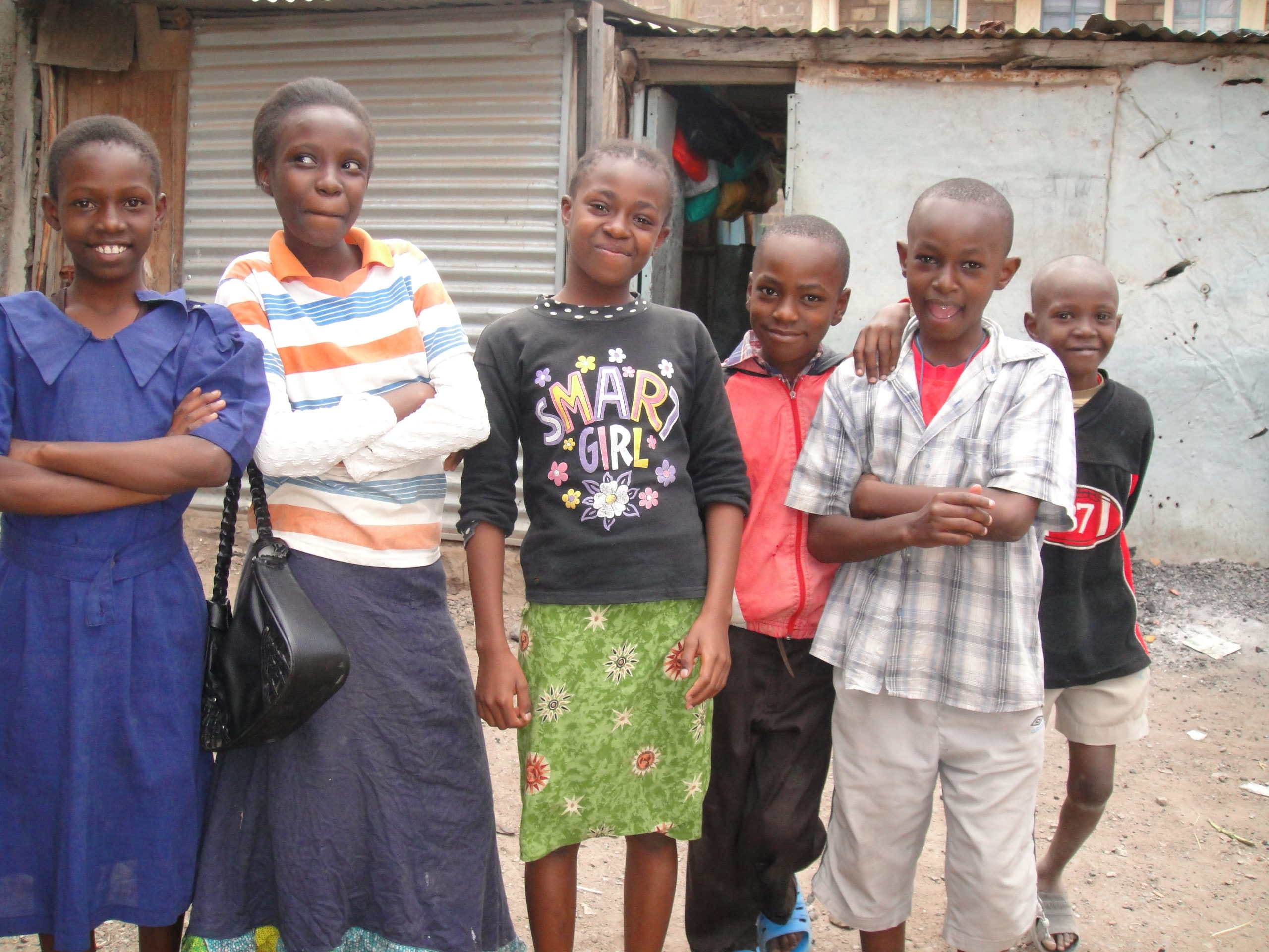 Youth in Kayole slums