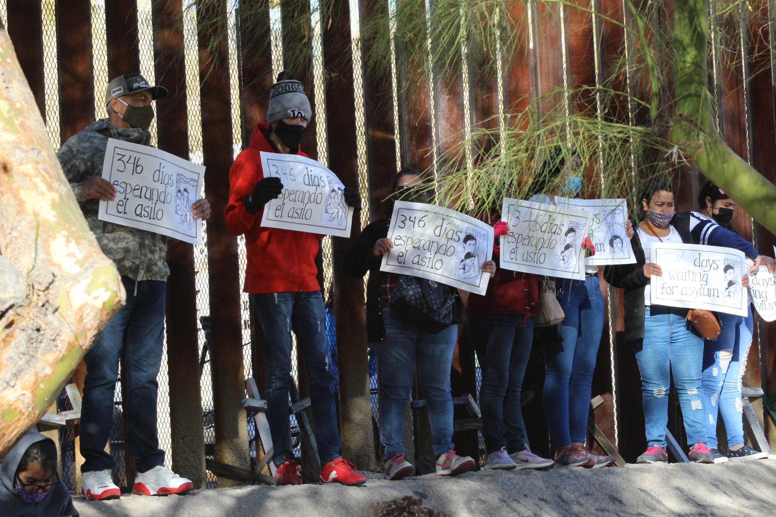 Migrants at border.KBI